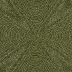 Hand woven Country Living Reversible Green Braided Rug (8 Round