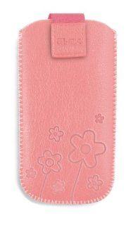 OK UP Handytasche Classic Pink   Motiv mit Blumen