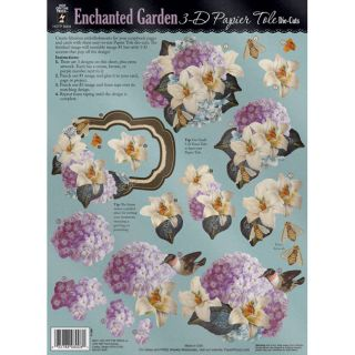 Hot Off The Press Enchanted Garden 3 D Die Cut Today: $5.17 4.0 (1