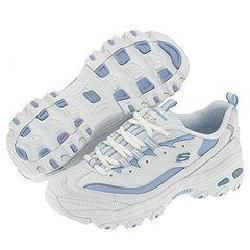 Skechers Dlites White/Blue