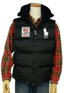 Polo Ralph Lauren Mens Big Pony Down Vest Clothing