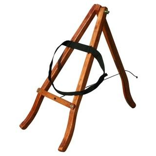 Wooden Tripod Djembe Drum Stand (Indonesia)