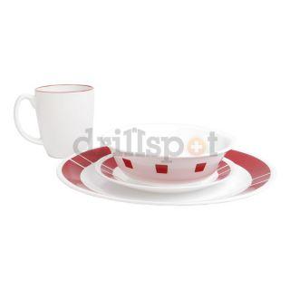 Enchanting Urban Red Corelle Dinnerware Contemporary - Best Image ...