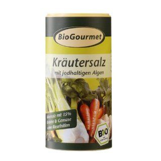 BioGourmet Kräutersalz, 6er Pack (6 x 150 g Karton)   Bio: