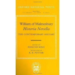 William of Malmesbury Historia Novella The Contemporary History