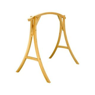 Support fauteuil suspendu Bois Cyprès Hatteras Hammocks   Roman Arc