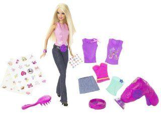 Barbie N4758 0   Coole Tattoos Barbie: Spielzeug