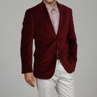 Adolfo Mens 2 button Velvet Sport Coat