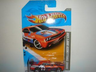 Wheels Dodge Challenger Drift Car Orange/Blue #229/247: Toys & Games