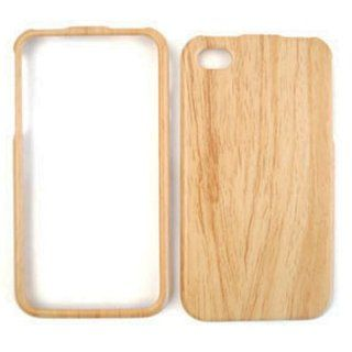 Wood Wooden Bamboo Fitted Plastic Snap On HARD Faceplate