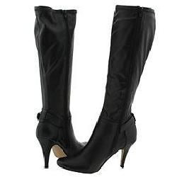 Zigi NY Nancy Black Stretch Knee High Boots