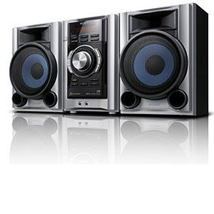 Sysem wih Digial Media Por and 140 Was RMS (Silver) Elecronics