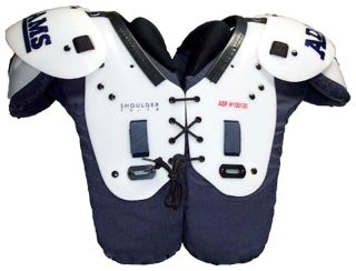 Adams ASP Youth Football Shoulder Pads Size 2X Small Size