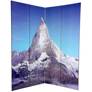 Canvas Double sided 6 foot Matterhorn/ Everest Room Divider (China