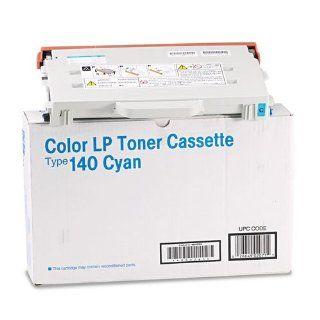 Ricoh   Color LP Toner Cassette Type 140 Cyan 402071: Electronics
