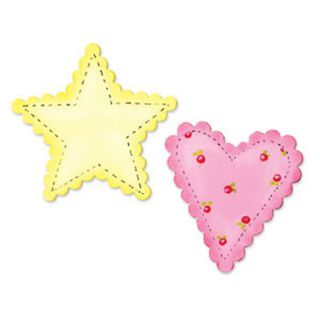 Sizzix Bigz Bigkick/Big Shot Scallop Heart and Star Die