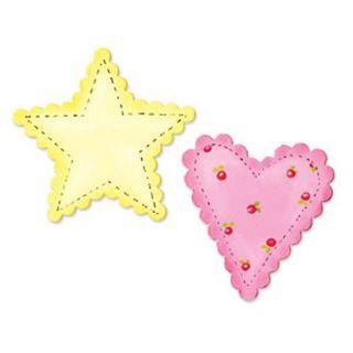 Sizzix Bigz Bigkick/Big Shot Scallop Heart and Star Die