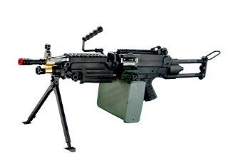 A&K M249 PARA Airsoft Machine Gun Sports & Outdoors