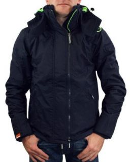 Superdry   Hooded Arctic Pop Zip Windcheater   Blau, Neon Grün