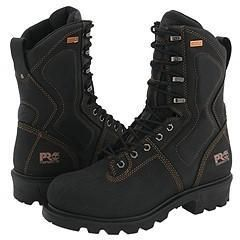 Timberland PRO TiTAN® Terrain Leather 10 Safety Toe Black Boots