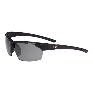 Tifosi Glasses Jet Matte Black with Smoke Polarized Lens