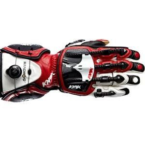 Knox Handroid Hand Armor Gloves   Large/Red :  : Automotive