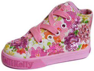 Lelli Kelly wunderschoene Textilschuhe, Stiefel PARADISE, fantasia