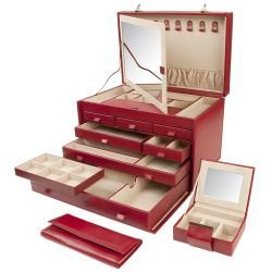 Queens Court Extra Large Jewelry Case