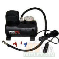 250 PSI 12V Mini Air Compressor 12 Volt Emergency Car and Truck Tire