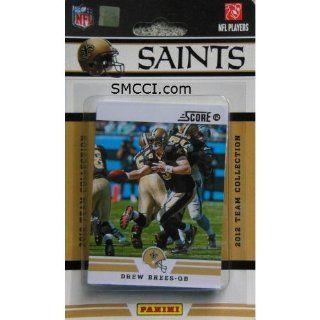 2012 Score New Orleans Saints Team Set in Collectors