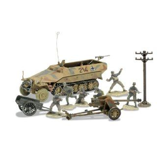 German Sd. Kfz. 251/1 and 75Mm Pak 40 Set D   Day Series Toys & Games
