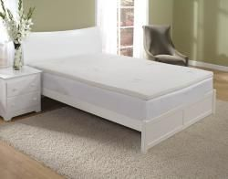 Home Fashions International 2 inch King size Memory Foam Topper with