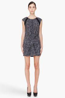 Iro Grey Silk Jane Dress for women