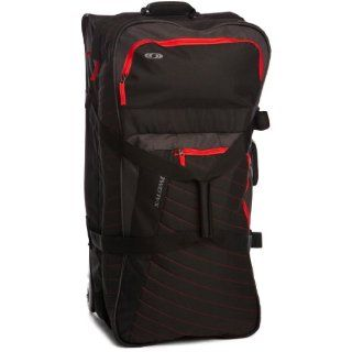 Salomon Tasche Container 100, black/bright red, 77x37x35 cm, 93 Liter