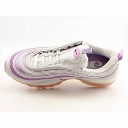 Nike Womens Air Max 97 White/ Grape Shock Running Shoes (Size 10