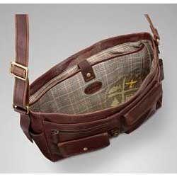 Fossil Decker Full grain Leather Messenger Bag