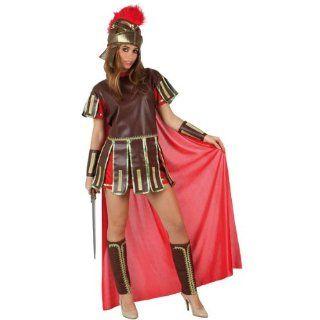 Atosa   Verkleidung Römische Kriegerin, Erwachsene, rot: