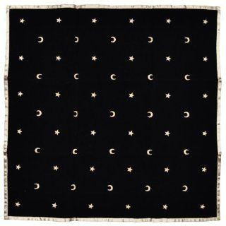 Lo Scarabeo   Orakel Zubehör Tarot Decke   Mond und Sterne