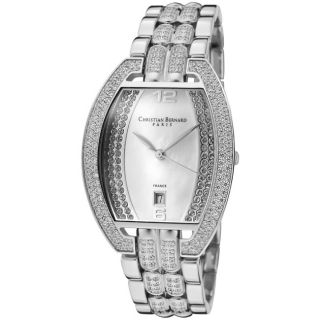 Christian Bernard Mens Daylight Stainless Steel Watch