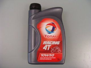 Total racing 4T 10W 50 Motorradöl in der 1 ltr. Dose: Auto