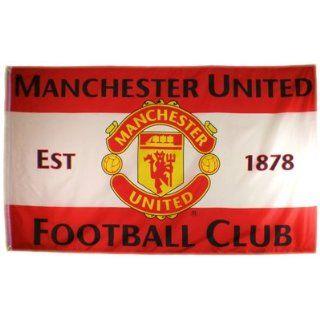 Manchester United F.C. Flag Est 1878 Sport & Freizeit