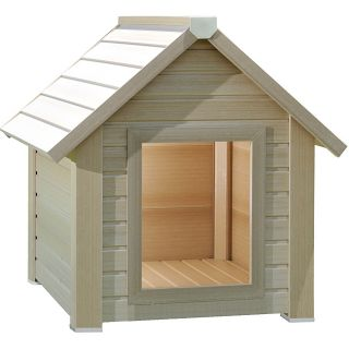New Age Pet ecoConcepts Bunkhouse style ecoFlex Composite Dog House