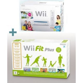 Wii FAMILY EDITION + Wii FIT PLUS   Achat / Vente WII Wii FAMILY