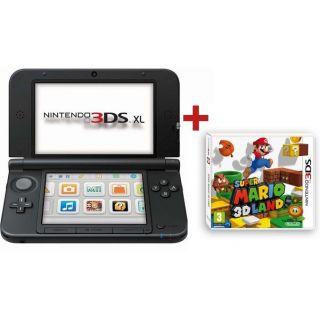 CONSOLE 3DS XL BLEU NOIR + SUPER MARIO 3D LAND   Achat / Vente DS 3DS