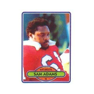 1980 Topps #139 Sam Adams OL   VG: Collectibles