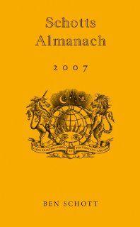 Schotts Almanach 2007 Ben Schott, Alexander Weber Bücher