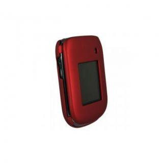 Premium BlackBerry Style 9670 Red Rubber Case