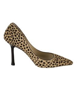 Jimmy Choo Leopard Print Pony Hair Pumps