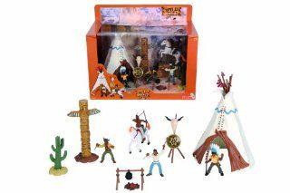 Simba 4415531 Wild West   Indianer Zelt Set: Spielzeug