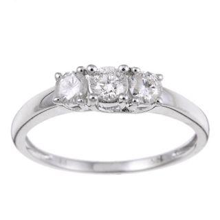 Three Stone Wedding Rings: Buy Engagement Rings
